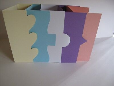60 Mixed Pack Fancy Fold & Die Cut Aperture Greeting Cards with Env 589614 AM421