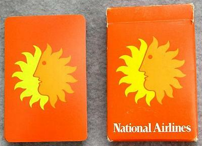 National Airlines Vintage Playing Cards Full Deck