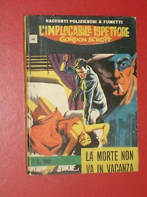 Fumetto Nero Implacabile Gordon Schott N°16 +Disp-Altri