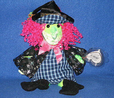 TY SCARY the WITCH BEANIE BABY - MINT with MINT TAGS