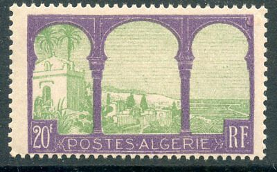 Stamps Architecture Timbre Algerie Neuf N° 85 ** Vue Prise De Mustapha