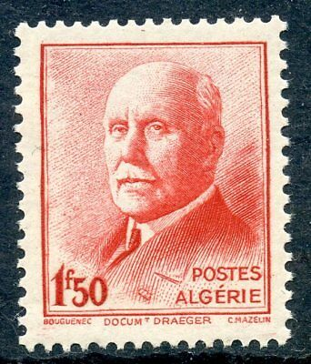 Timbre Algerie Neuf N° 196 **