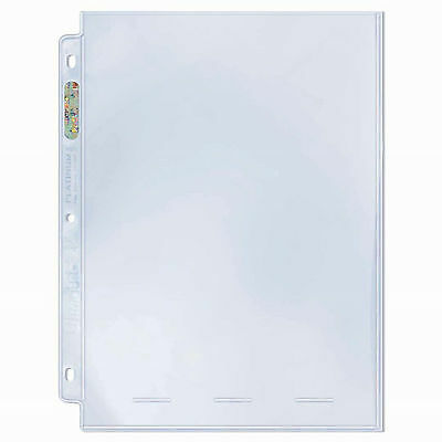 Ultra Pro Platinum 1 Pocket Photo Pages 100 count