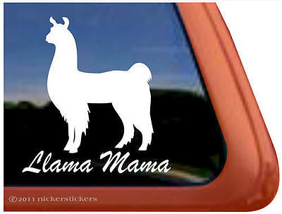 Llama Mama | High Quality NickerStickers Vinyl Car Truck RV Window Decal Sticker