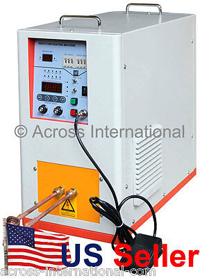 6.6KW 200-500KHz Hi-Frequency Compact Induction Heater Melting Furnace w/ Timers