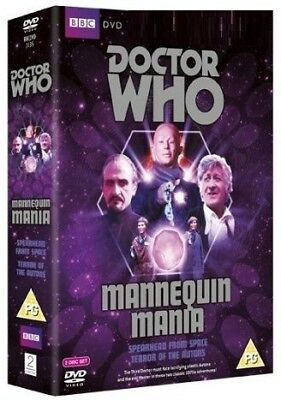 DR WHO 051 + 055 (1970-71) - MANNEQUIN MANIA - TV Doctor Jon Pertwee  NEW R2 DVD