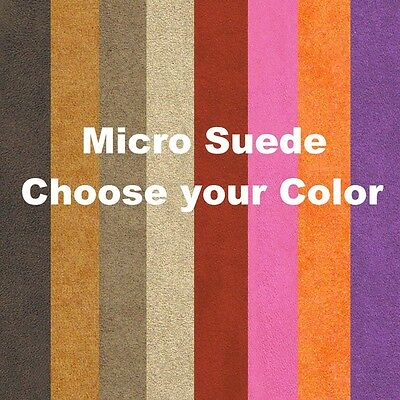 Suede Upholstery Micro Fiber Fabric by the Yard New