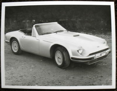 Tvr S Press Photograph Black & White Undated