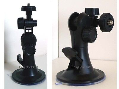 Car Windshield/window Suction Mount For Digital Camera Camcorder Canon Powershot