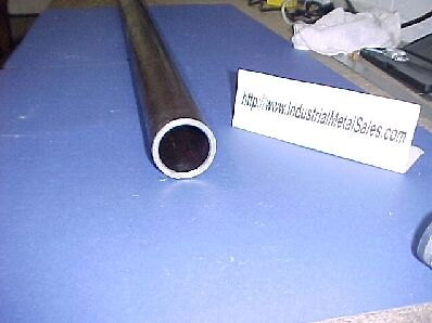 "DOM Mild Steel Round Tube Seamless 2 1/2"" OD x 84""-Long-->2.5"" OD x .120"" Wall"