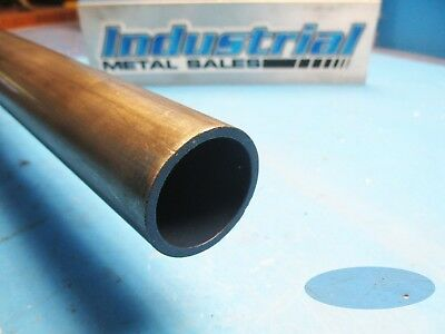 """DOM Seamless Steel Round Tube  2"""" O.D x 12"""" x .120 Wall FREE SHIPPING !"""
