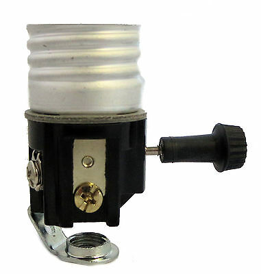 3-terminal nite-lite lamp socket with hickey     TR-49