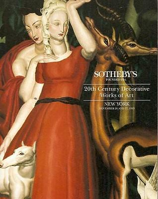 Sotheby's 20th Century Decorative Works of Art 1993