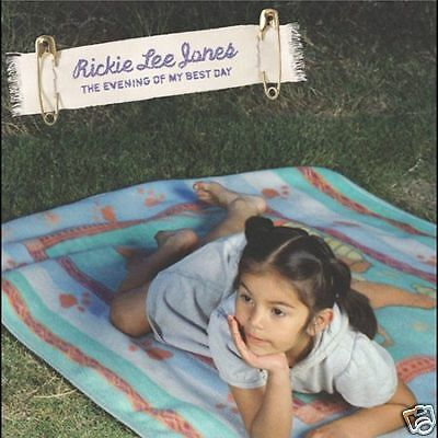 """RICKIE LEE JONES """"THE EVENING OF MY BEST DAY""""CD [NEW]"""