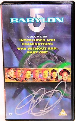 BABYLON 5 : Volume 29 Video Tape, signed by Claudia Christian
