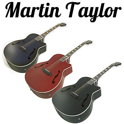Martin Taylor Electro - Electric semi acoustic Guitar Package  15w amp. option