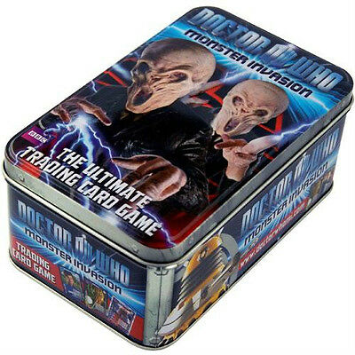Dr Who Monster Invasion Set 2 Extreme - Sealed Tin - 5 Packs + Special Rory Card