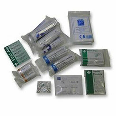 Statuory Standard First Aid Injury Kit Refill Pack