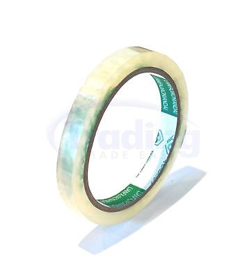 12 Rolls Of Bag Neck Sealer Tape | CLEAR