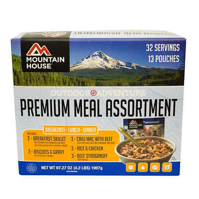 Mountain House Best Sellers Freeze Dried Emergency Survival Camping Food Kit