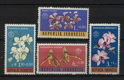 Indonesia 1962 SG#938-41 Orchids MH Set