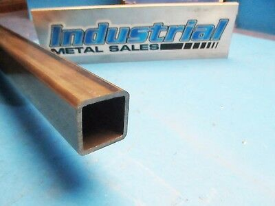 "Steel Square Tube 1-1/4"" x 1-1/4"" x 48""-Long x .120"" Wall-->1.250"" x .120"" wall"