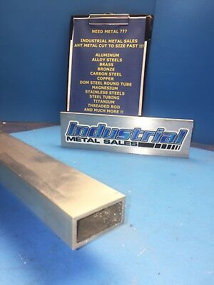 "1"" x 2"" x 24""-Long x 1/8"" Wall 6063 T52 Aluminum Rectangle Tube-->1"" x 2"" x .125"