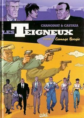 Les Teigneux  -  Carnage Boogie  /  Tome 2  /  Neuf  /  Abracadabulle