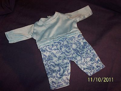 Dolls NEW  Long Sleeve Patterned Romper Suit.SUIT BOY DOLL as well as 40cm Dolls