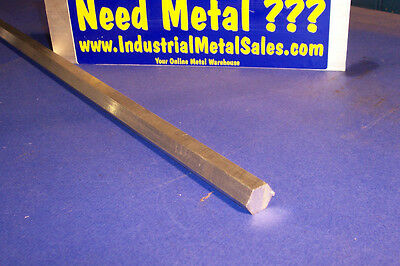 "5/8"" x 36""-Long 6061 T6 Aluminum Hexagon Bar -->.625"" 6061 T6 Aluminum Hex"