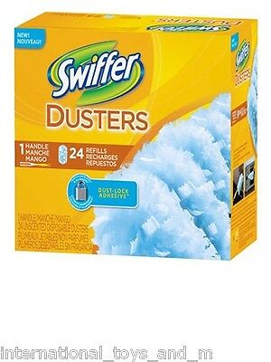 Swiffer Duster Refill 24 pk Dusters Cleaning USA NEW