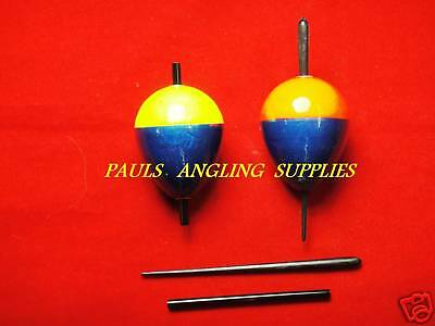 2 x TFT Pike Fishing Floats Bungs Slider Live Deadbait