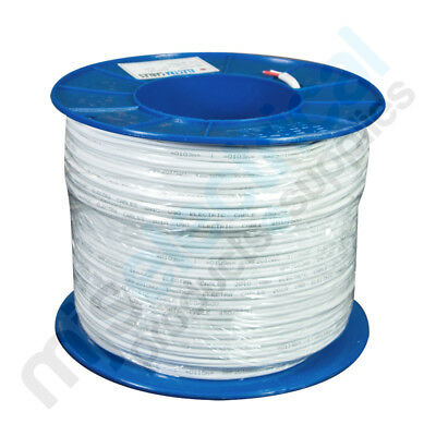 1.5mm Twin Active (Red / White) TPS Electrical Cable 100mtrs