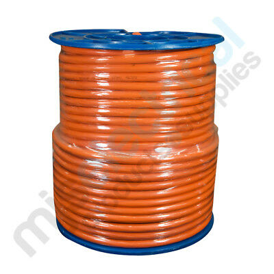 1.5mm 3 Core + Earth Orange Circular Electrical Cable 100mtr Roll NEW