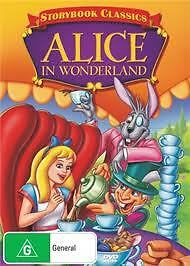 Alice In Wonderland Storybook Classic Dvd *new+Sealed*