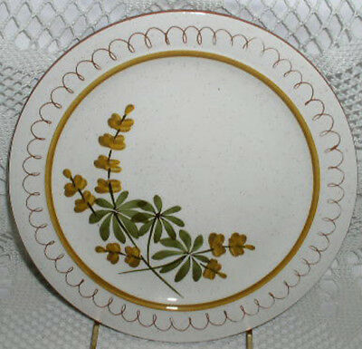 "Hand Painted Stangl Golden Blossom 12-1/4"" Round Platter Chop Plate"