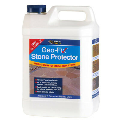Everbuild Natural Stone Tile and Patio Sealer Clear - 1 Litre