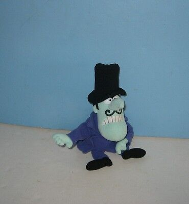 "9"" Rocky & Bullwinkle ""Snidely Whiplash"" Bean Stuffed Plush"