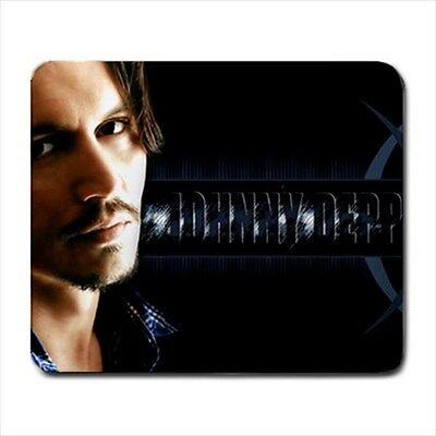One and Only Johnny Depp Collectible Rare Picture Large Mouse Pad