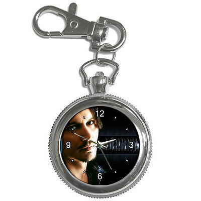 One and Only Johnny Depp Collectible Rare Photo Keychain Watch