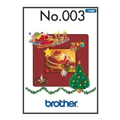 Brother Embroidery Sewing Machine Memory USB Stick BLECUSB3 Winter Collection