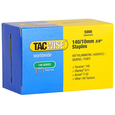 Tacwise 0342 Type 140 Series Staples 10mm - 5000 Pack