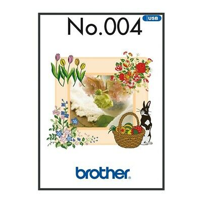 Brother Embroidery Sewing Machine Memory USB Stick BLECUSB4 Spring Collection