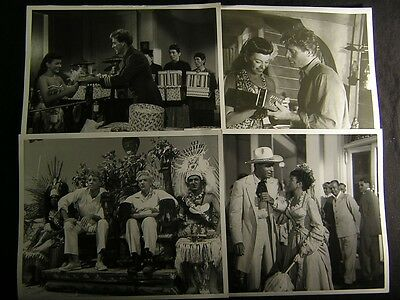 1954 Burt Lancaster His Majesty O'Keefe VINTAGE 4 Movie PHOTO LOT By Julian 148H