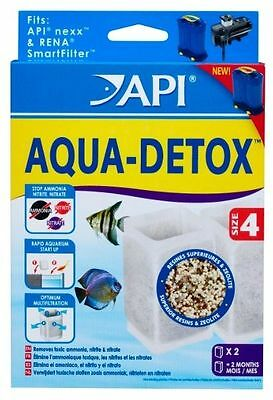 Rena Size 4 Api Aqua-Detox Fits Nexx External Tropical Fish Tank Aquarium Filter