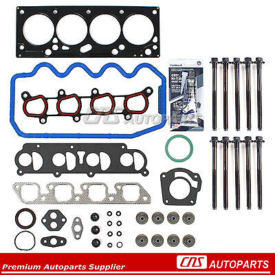 FORD FOCUS 2.0L SOHC CYLINDER HEAD GASKET SET+BOLTS VIN P ENGINE 00 01 02 03 04