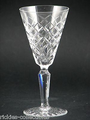A Waterford Crystal Cordial Sherry Glass - Tyrone