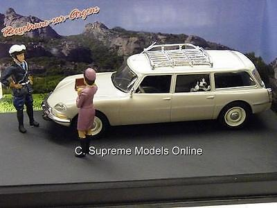 Citroen Ds Estate Car & Diorama Scene 1/43 Size Packaged Issue French K8967Q ~#~