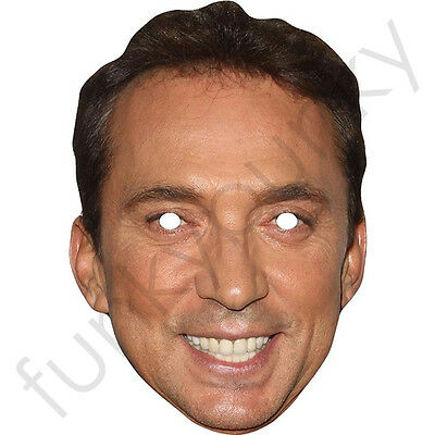 Bruno Tonioli Strictly Come Dancing Card Mask - All Our Masks Are Pre-Cut!