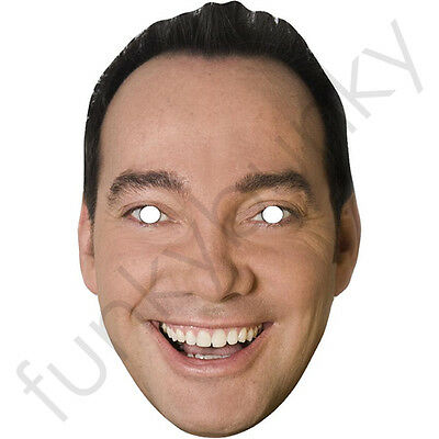 Craig Revel Horwood Strictly Come Dancing Card Mask - All Our Masks Are Pre-Cut!